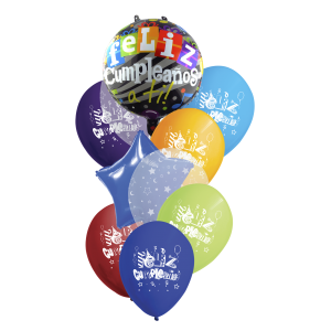 Bouquet B-FCS Feliz Cumpleaños
