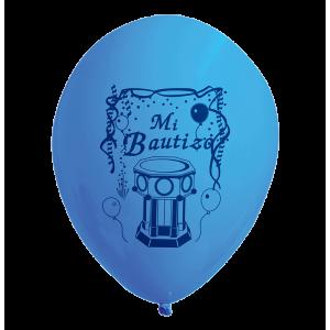 Globos I-07 Mi Bautizo Azul...