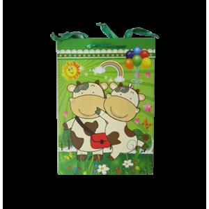 Bolsa de Regalo Verde Vaca