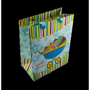 Bolsa de Regalo Coche Azul