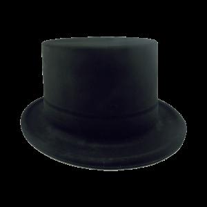 Sombrero Copa Alta Negro