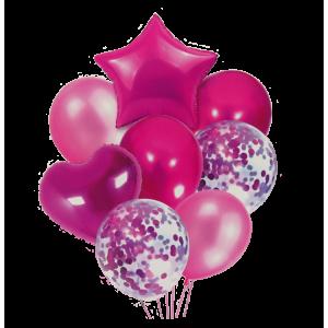 Bouquet Fucsia Estrella