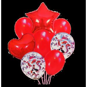 Bouquet Rojo Estrella