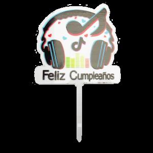 Adorno Feliz Cumpleaños AT0-09