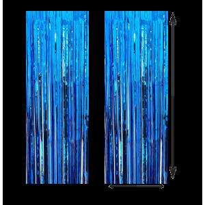 Cortina Color Azul 100x210cm