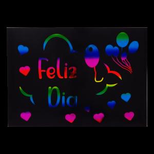 Stikers Para Globos Feliz Día