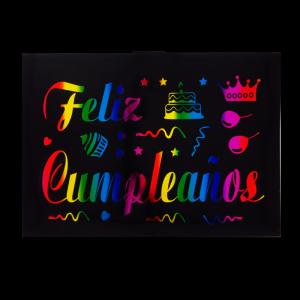 Stikers Para Globos Feliz...