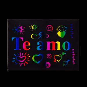 Stikers Para Globos Te Amo...