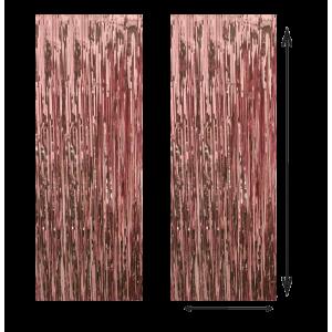 Cortina Color Oro Rosa...
