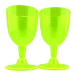 Vino Copa Coctel X 10 Verde...