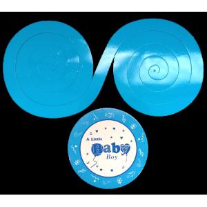 Espiral Baby Azul